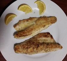 Pesce-Branzino-Filetti di Branzino alla mugnaia