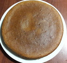 Pan di spagna senza zucchero per dolci